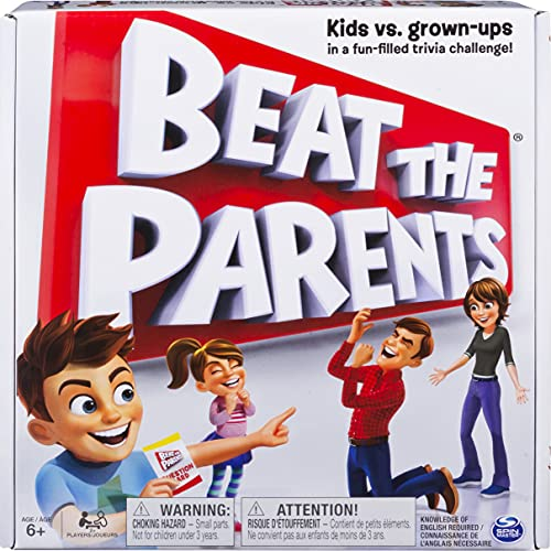 Spin Master Beat The Parents Game – Quizspiel [UK Import] von Spin Master