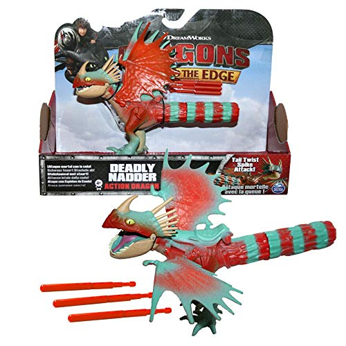 Dragons Sturmpfeil Drachen | DreamWorks Action Spiel Set | Deadly Nadder von Dragons