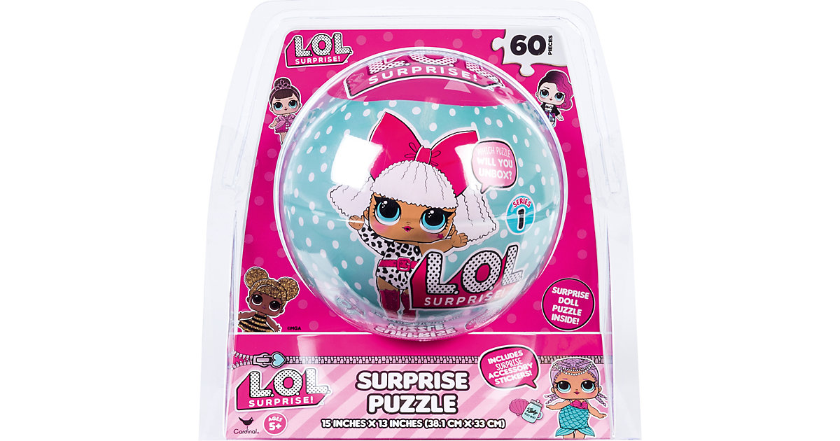 LOL Surprise Doll Puzzle, 60 Teile von Spin Master