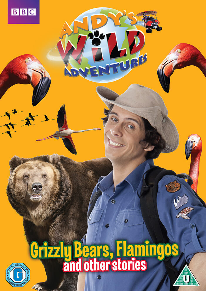 Andy's Wild Adventures - Grizzly Bears, Flamingos and other stories von Spirit Entertainment