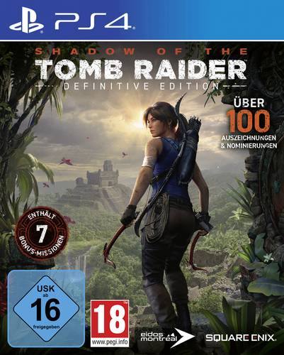 Shadow of the Tomb Raider Definitive Edition PS4 USK: 16 von Square Enix