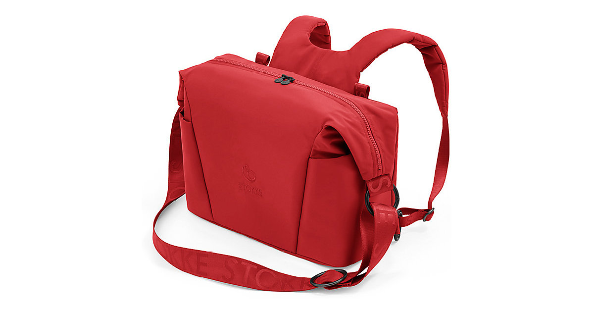 Stokke® Xplory X Changing bag, Ruby Red rot von Stokke