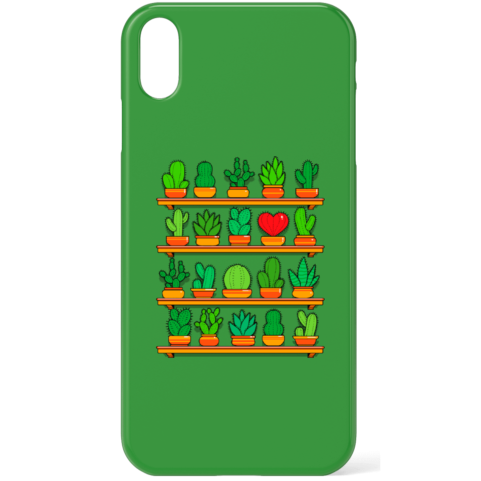 Love Yourself Cactus Heart Phone Case for iPhone and Android - Samsung S7 - Snap Hülle Matt von TOBIAS FONSECA