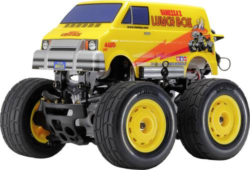 Tamiya Lunch Box Mini Brushed 1:24 RC Modellauto Elektro Monstertruck Allradantrieb (4WD) Bausatz von Tamiya