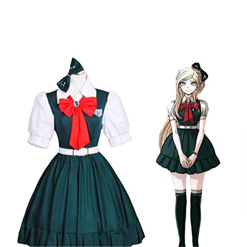 Teakpeak Anime Cosplay Schuluniform, Anime Danganronpa Cosplay Costume Sonia Nevermind Cosplay Dress JK Uniform - XXL von Teakpeak