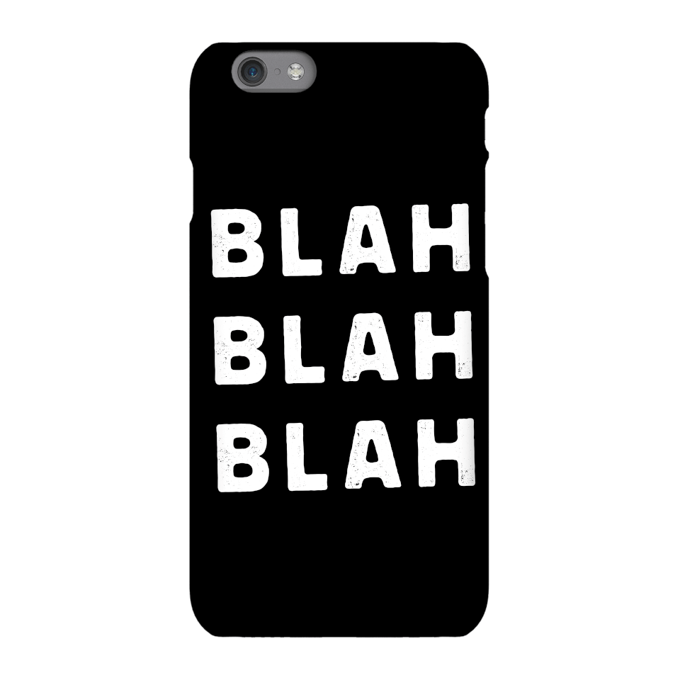 The Motivated Type Blah Blah Blah Phone Case for iPhone and Android - iPhone 5/5s - Snap Hülle Glänzend von The Motivated Type
