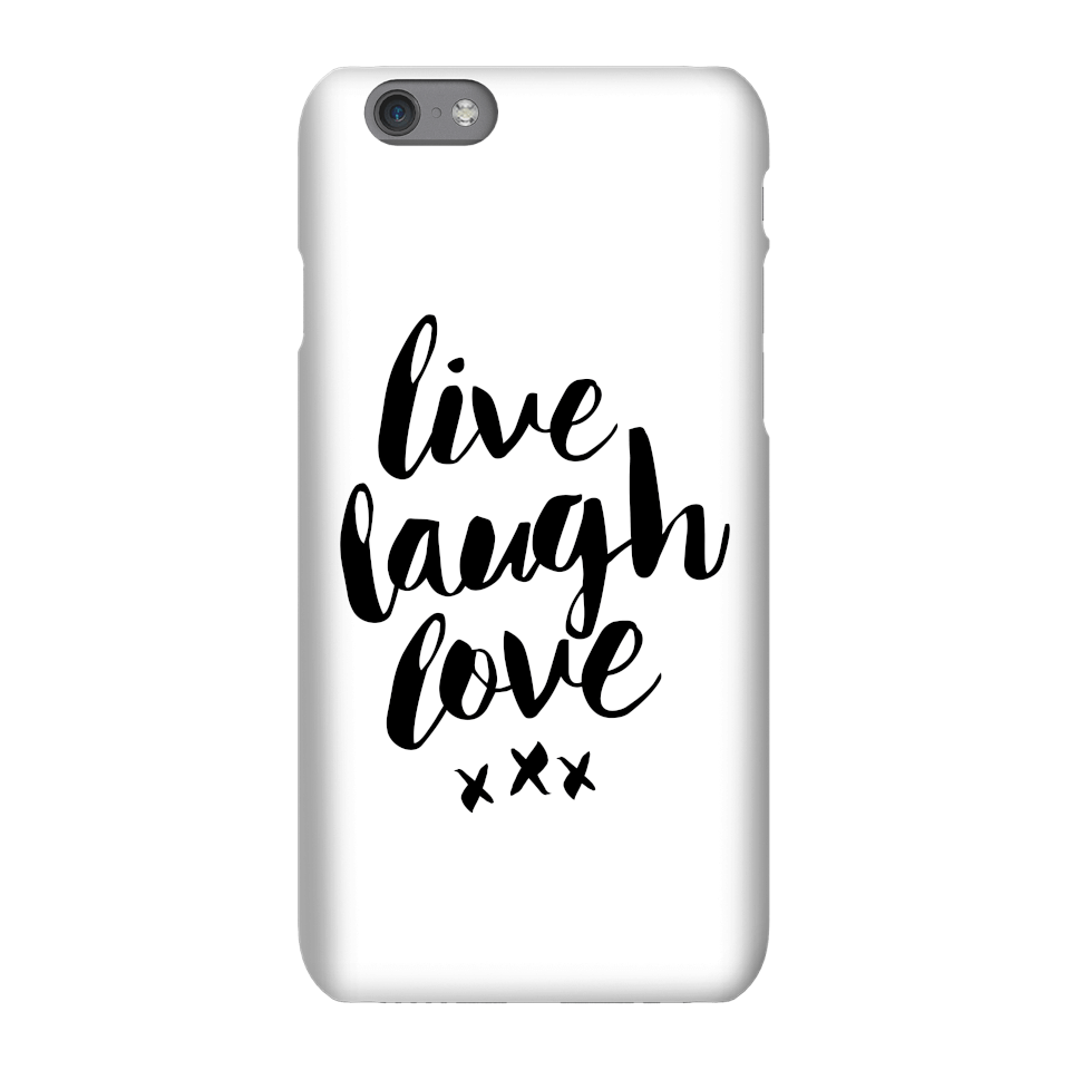 The Motivated Type Live Love Laugh Phone Case for iPhone and Android - iPhone 6 Plus - Tough Hülle Matt von The Motivated Type