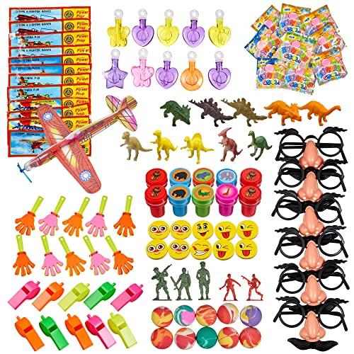 Geschenk Event-Zubeh/ör f/ür Geburtstag Yiwa 10 St/ück sortierte Dinosaurier-Stempel f/ür Kinder Party Spielzeug f/ür Jungen und M/ädchen Pinata F/üller Partyzubeh/ör