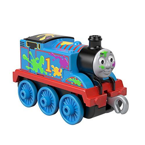 Aufnäher // Bügelbild 8,7 x 7 cm Thomas The Tank Train Baby Kinder blau