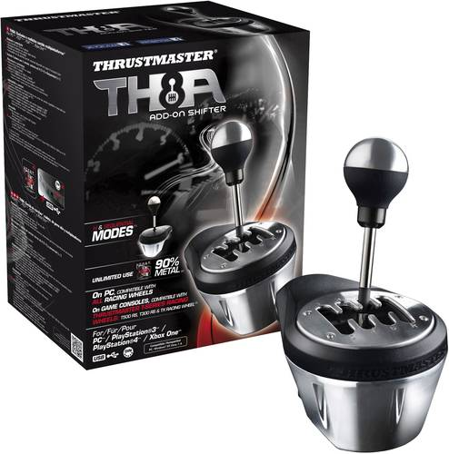 Thrustmaster TX Racing Wheel TH8A Shifter AddOn Gangschaltung PlayStation 3, PlayStation 4, PC, Xbox von Thrustmaster