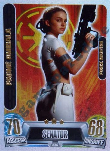 Star Wars Force Attax Movie Cards Serie 2 - Padme Amidala - Force Meister - D... von Topps