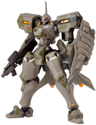 Revoltech Muv-Luv Alternative Total Eclipse: No.006 MiG-21 Balalaika Schwarzesmarken Custom von Toy Zany