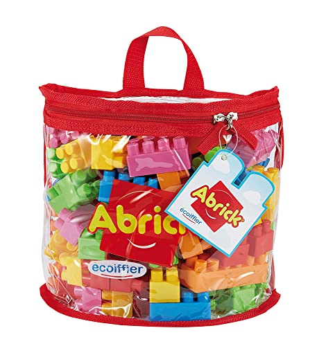 ToyCentre Ecoiffier Abrick 846 Set of 100 Building Blocks in a Semi-Circular Bag von ToyCentre