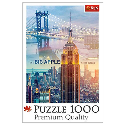 Trefl 10393 New York at Dawn Puzzle (1000-Piece) von Trefl