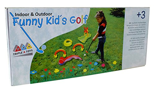 Triple A Toys A-20093 - Funny Kids Golf, Kindergolf von Triple A Toys