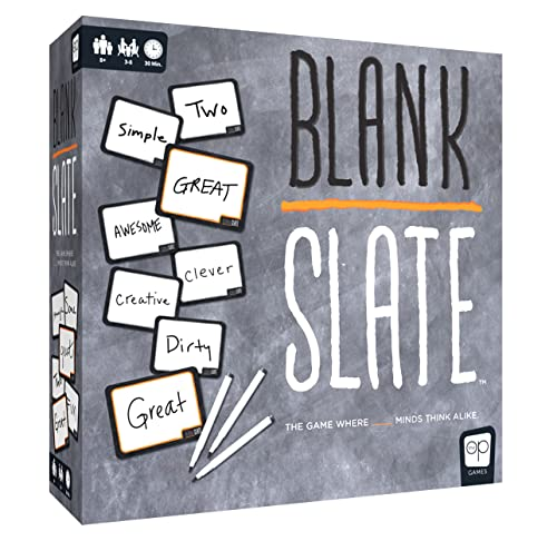 USAopoly Blank Slate Board Game | Perfect for Family Game Night | 3-8 Players Ages 8+ - English von USAopoly
