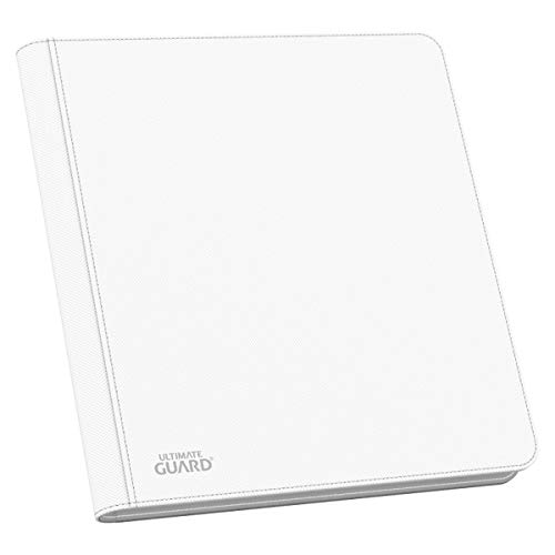 Ultimate Guard UGD010470 - 12 Pocket QuadRow ZipFolio XenoSkin, weiß von Ultimate Guard
