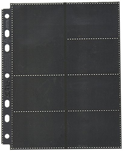 Ultimate Guard UGD010496 - 14-Pocket Compact Pages Standardgröße und Mini American, schwarz (10) von Ultimate Guard