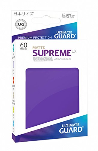 Ultimate Guard UGD010599 Supreme UX Sleeves, Japanische Größe, matt violett von Ultimate Guard