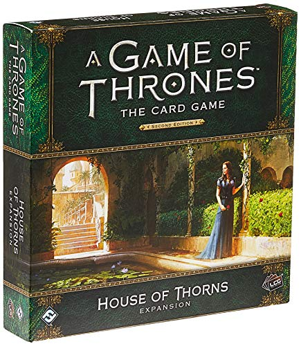 A Game of Thrones LCG 2nd Edition: House of Thorns Deluxe Expansion - English von Fantasy Flight Games