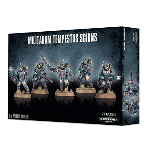 Games Workshop 99120105075 Militarum Tempestus Scions Miniatur von Games Workshop