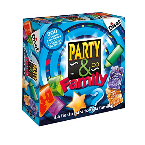 Diset Party & Co - Family, Brettspiel 10118 von Diset