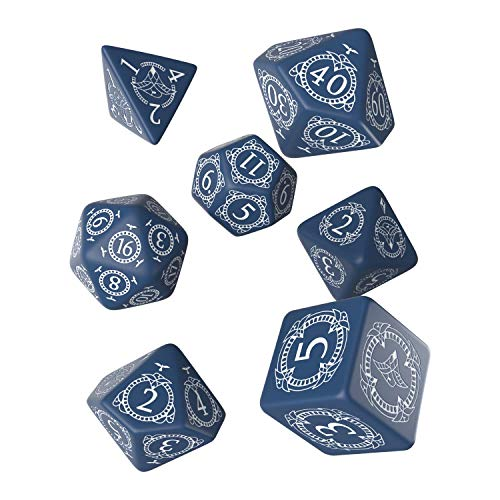 Q-Workshop QWOPAT82 - Pathfinder Hell`s Rebels Dice Set, 7 Würfel von Q-Workshop