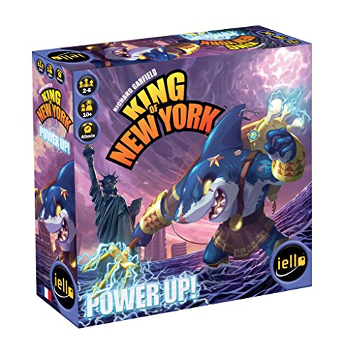 Unbekannt iello IEL51290 Brettspiel King of New York: Power Up von Unbekannt