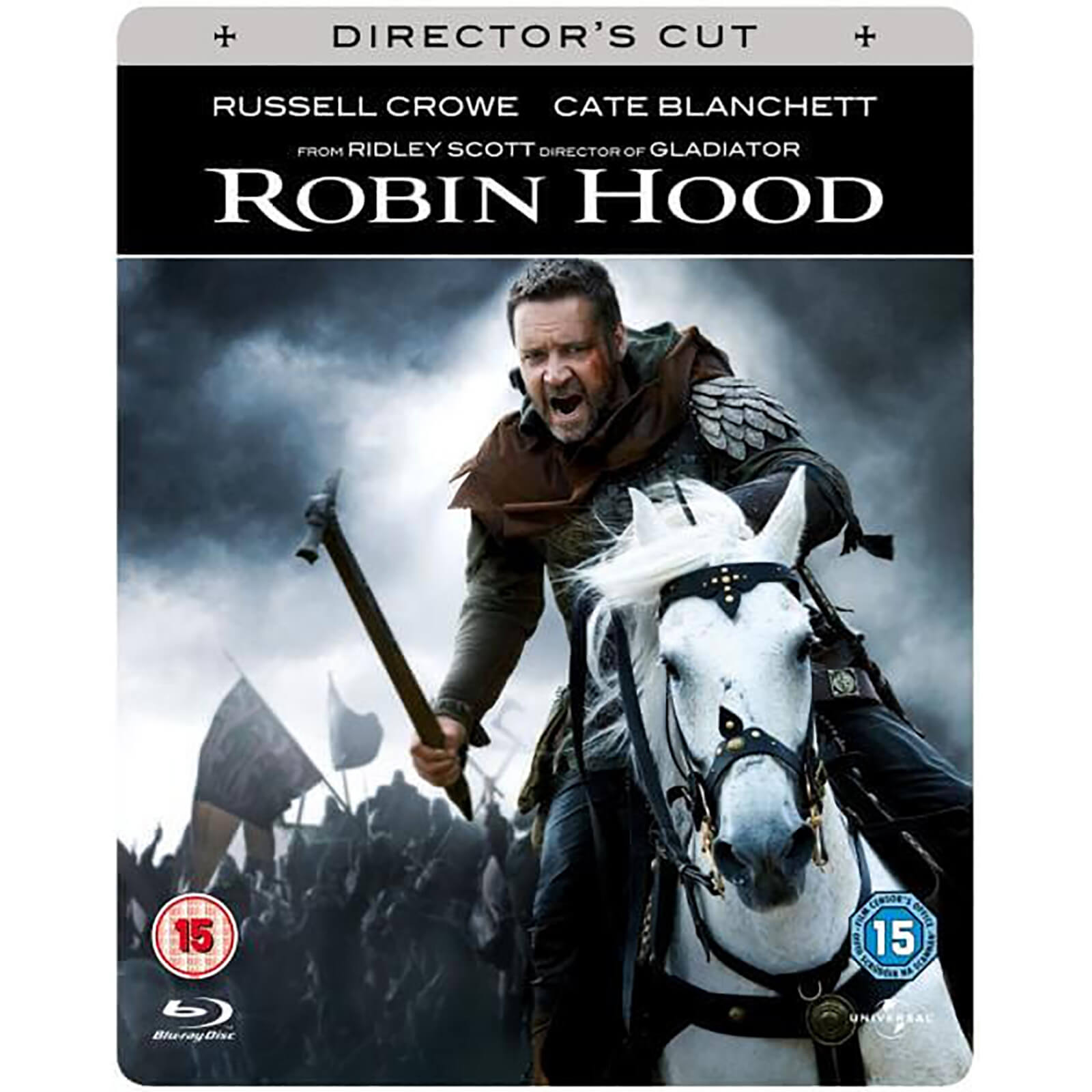 Robin Hood Limited Edition Steelbook & in-pack booklet von Universal Pictures