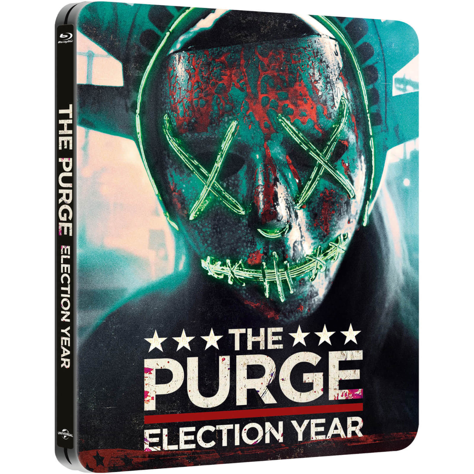 The Purge: Election Year – Zavvi UK Exklusives Limited Edition Steelbook von Universal Pictures