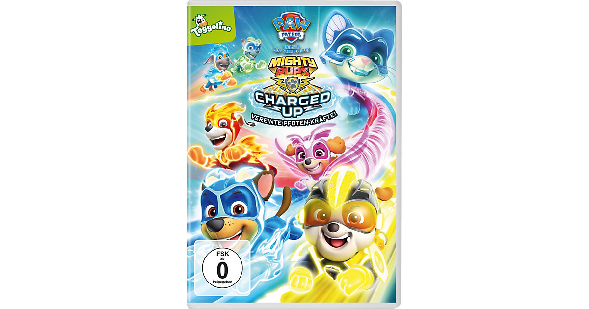DVD PAW Patrol - Mighty Pups Charged Up Hörbuch von Universal