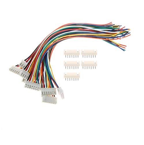 30 Set Buchse JST-XH 60 Stück 2Pin Mini JST XH 2.5mm 2.5 Stecker 15cm Kabel