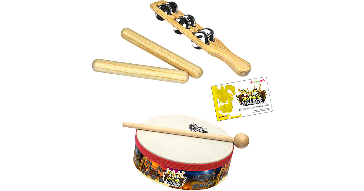 Rhythmic Village Percussion-Set von Voggenreiter
