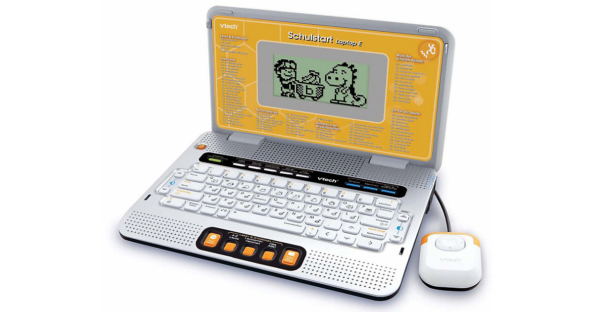 Laptop Schulstart, orange von Vtech
