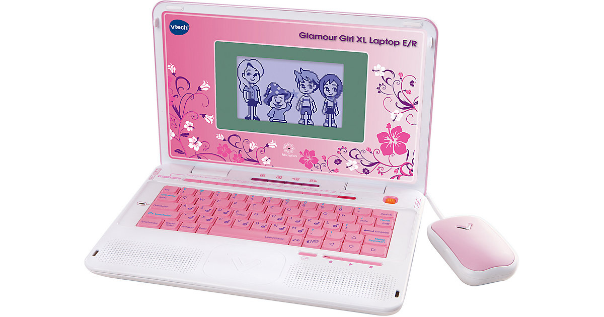 Power XL-Laptop Glamour Girl, pink von Vtech