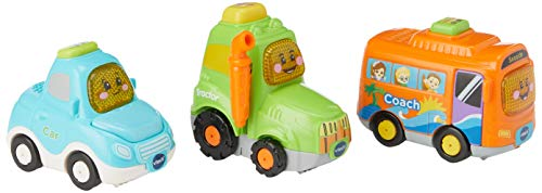 Vtech 242173 Toot Drivers 3 Car Pack Everyday Vehicles Preschool Spielzeug, Multi von Vtech