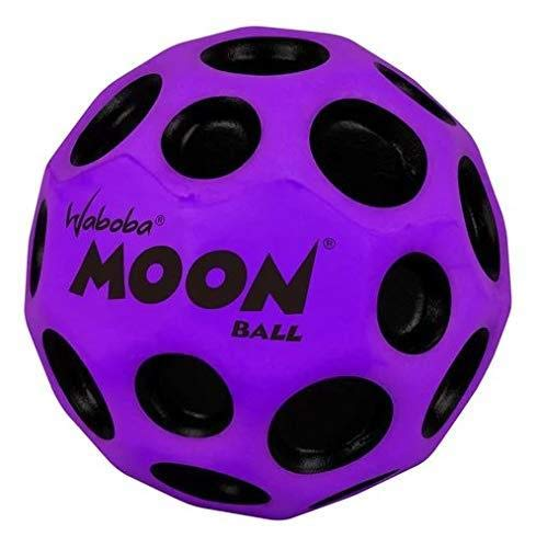 Waboba Moon Ball Extreme Bounce Crazy Spin Stylish Lightweight Design Purple von Waboba