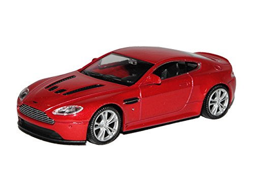 Welly Aston Martin V12 Vantage Coupe Rot Ab 2010 1/43 Modell Auto von Welly