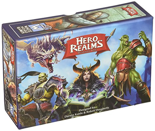 White Wizard Games WWG500 Hero Realms Deckbuilding Kartenspiel (englisch) von White Wizard Games