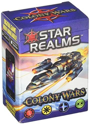White Wizard Games WWG011-EN - Star Realms Deckbuilding Spiel, Colony Wars - Englisch von White Wizard Games