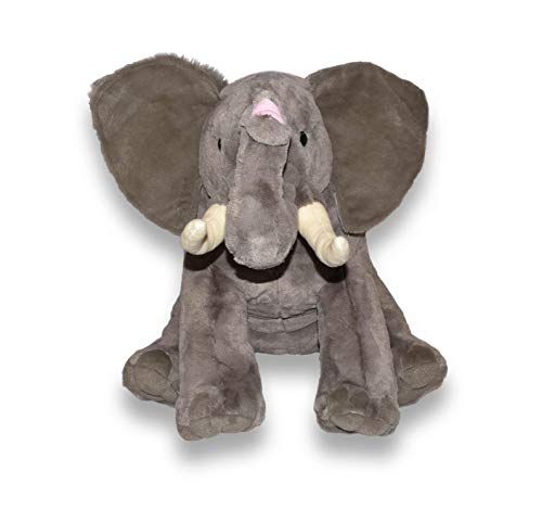 Wild Republic 19517 - Little Biggies Afrikanischer Elefant Plüschtier, 53 cm von Wild Republic
