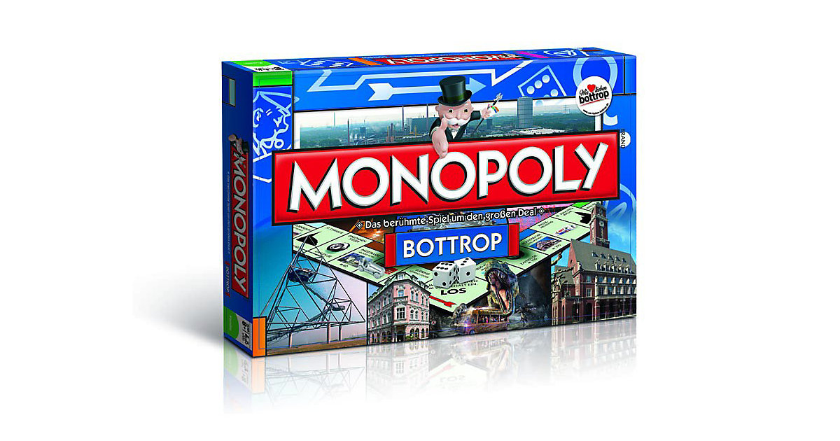 Monopoly Bottrop von Winning Moves
