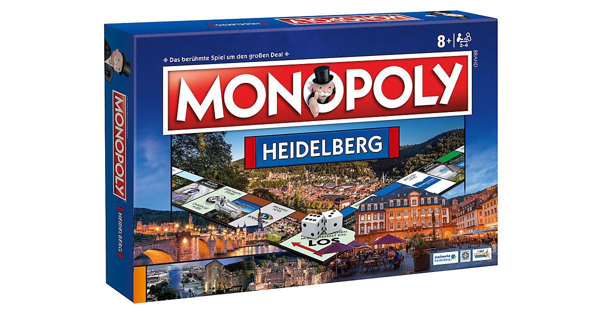 Monopoly Heidelberg von Winning Moves