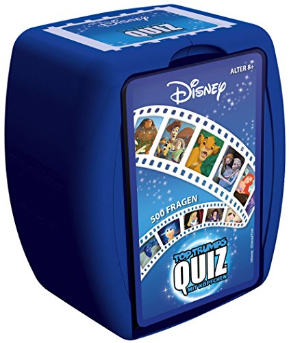 Winning Moves GmbH 62769 - Top Trumps - Quiz: Disney Classic von Winning Moves