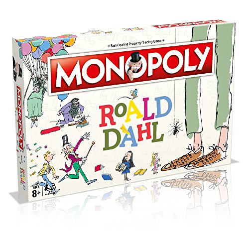 Winning Moves 031615 Roald Dahl Monopoly von Winning Moves