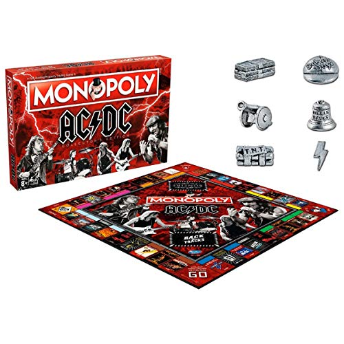 Ac/Dc Monopoly Board Game von Winning Moves
