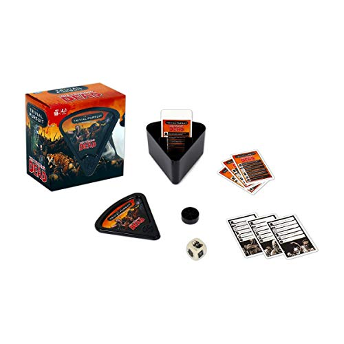 Walking Dead Trivial Pursuit Bite Size Board Game von Winning Moves