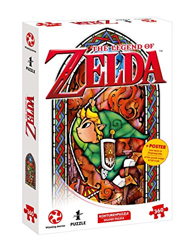 Winning Moves GmbH 11392 - Puzzle: Zelda Link-Adventurer (360 Teile) von Winning Moves