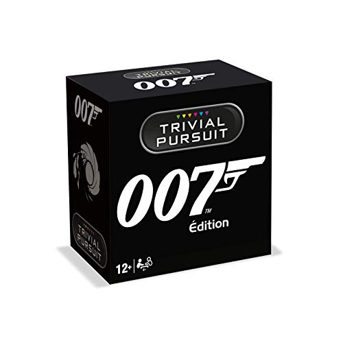Winning Moves - Trivial Pursuit James Bond Questions-Antwortspiel, Reiseformat, 0296, französische Version von Winning Moves