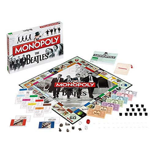 Winning Moves [UK-Import] Monopoly The Beatles Collectors Edition Board Game von Winning Moves